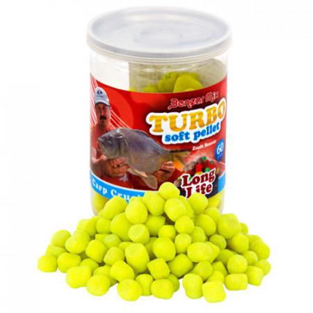 Benzar Mix Turbo Soft Pellet Long Life crap-caras 60g