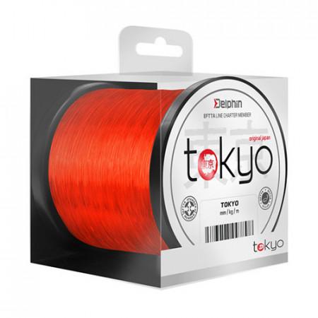 Fir Delphin TOKYO portocaliu 0,286mm 14lbs 300m