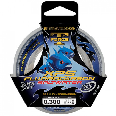 Fir Trabucco T-FORCE fluorocarbon XPS 0,145mm/2,10kg/50m