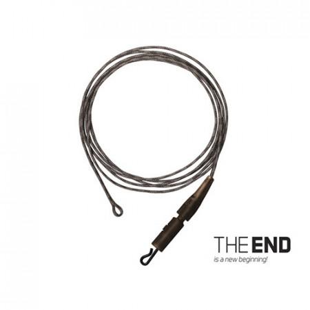 Montură THE END Leadcore + PIN clip / 3buc