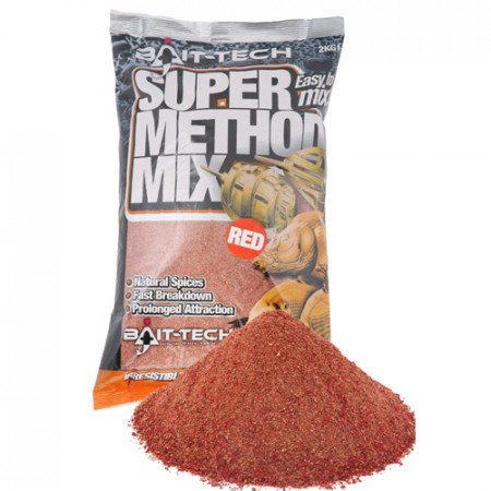 Nada Bait-Tech Super Method Mix Red 1kg