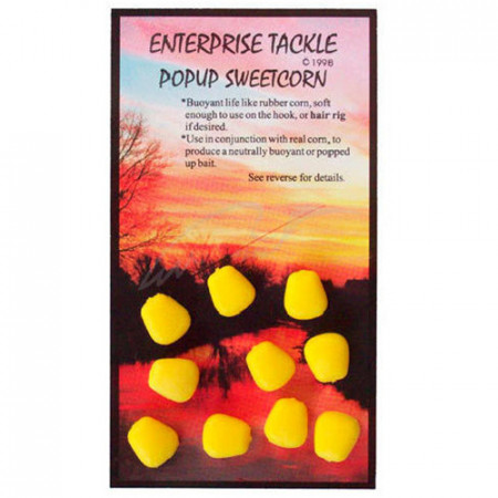 Pop-up Enterprise Tackle Sweetcorn Yellow