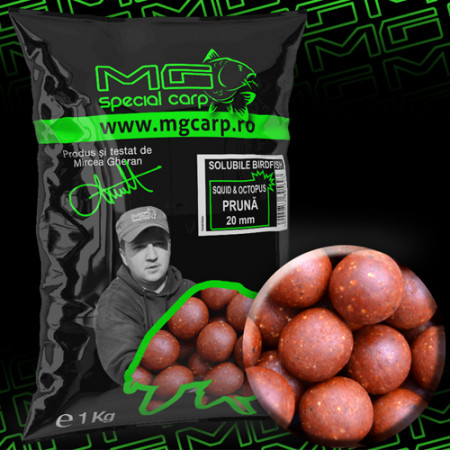 Boilies solubil MG special carp Squid&Octopus Pruna 20mm