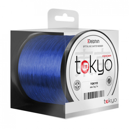 Fir Delphin TOKYO albastru 0,261mm 12lbs 300m