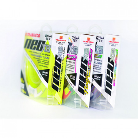 Fir Trabucco Dyna-Tex Neo X8 Yellow 0,205mm/11,34kg/150m