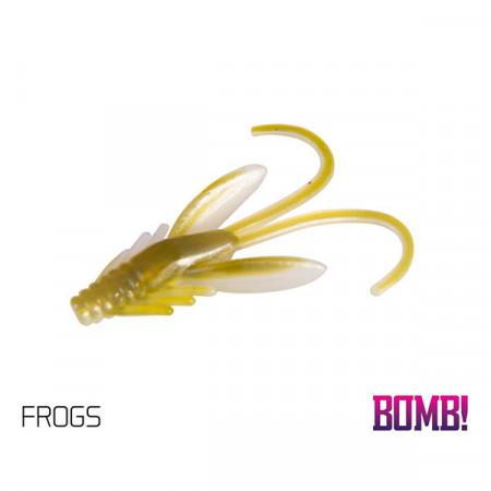 Momeală artificială BOMB! Nympha 2,5cm 10 buc./plic FROGS