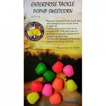 Pop-up Enterprise Tackle Sweetcorn Mixed Fluo Colours