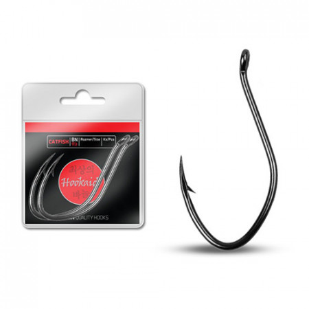 Cârlige Delphin HKD CATFISH ring / 6buc BN/2/0
