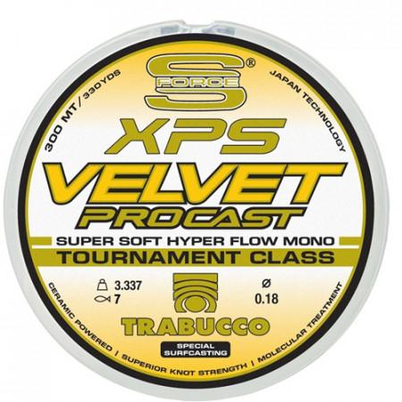 Fir Trabucco XPS Velvet Pro Cast 0,18mm/3,34kg/600m