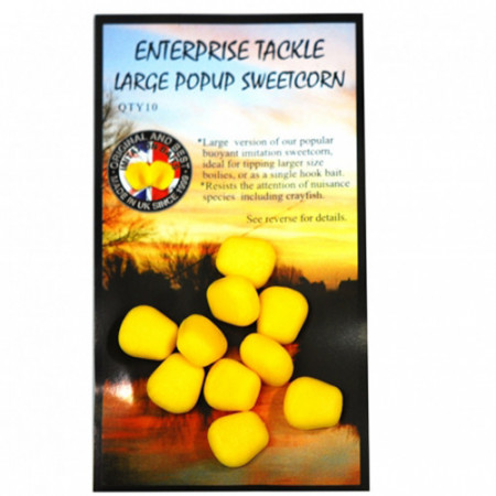 Pop-up Enterprise Tackle Sweetcorn Yellow Large