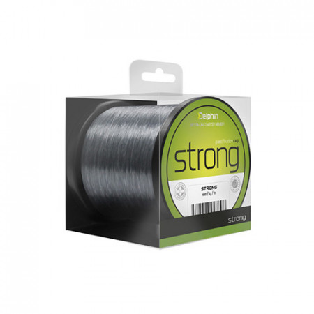 Fir Delphin Strong CARP 1200m/gri 0,25mm
