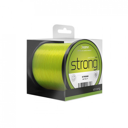 Fir Delphin Strong CARP 600m/galben 0,25mm 12,1lbs