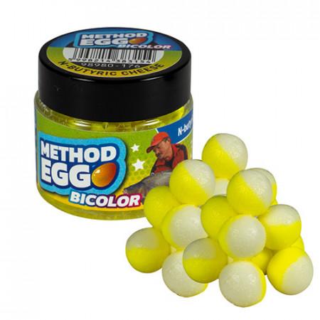 Benzar Mix Method Egg Bicolor N-butiric-cascaval 8mm 30ml