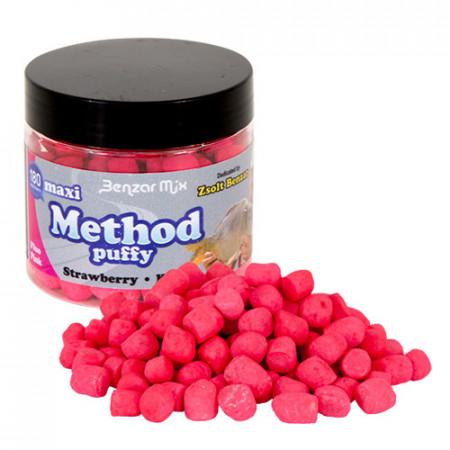 Benzar Mix Method Puffy midi capsuni-krill roz-fluo 180ml