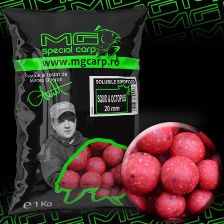Boilies solubil MG special carp Squid&Octopus 20mm