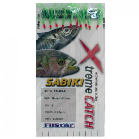 Taparine Sabiki Green Nr 9 10 Carlige