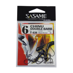 Carlig Sasame Chinu Double Barb Nr.4 13buc./plic