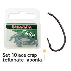 Carlige Baracuda Gripper Teflon Nr.6