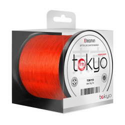 Fir Delphin TOKYO portocaliu 0,286mm 14lbs 1200m
