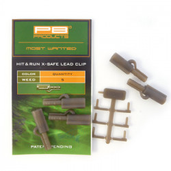PB Products Hit & Run X-Safe Leadclips Weed