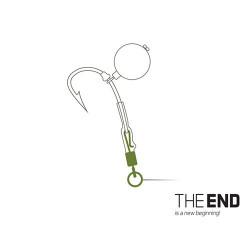 Vârtej cu agrafă THE END și anou / 10buc