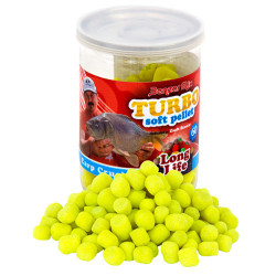 Benzar Mix Turbo Soft Pellet Long Life crap-caras 60g