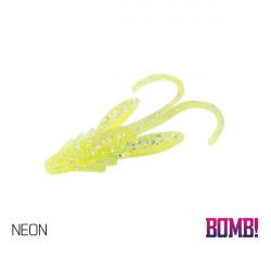 Momeală artificială BOMB! Nympha 2,5cm 10 buc./plic NEON