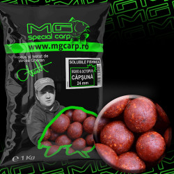 Boilies solubil MG special carp Squid&Octopus Capsuna 24mm