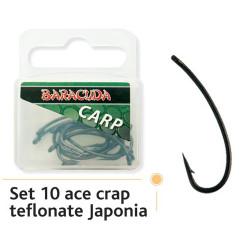Carlige Baracuda Turn Down Teflon Nr.4