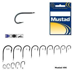 Carlig Mustad Soft Bait 496-BU Nr.1/10buc.