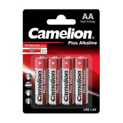 Baterii Camelion Plus Alkaline 4xAA LR6 1,5V