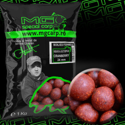 Boilies MG special carp Squid&Octopus Cranberry EA 24mm