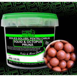 Boilies carlig solubil MG special carp Squid&Octopus Pruna