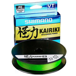 Fir Shimano Kairiki 8 150m Mantis Green 0.160mm/10.3kg