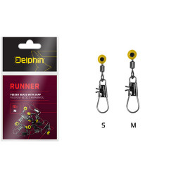 Vartej culisant Delphin RUNNER / 10buc S