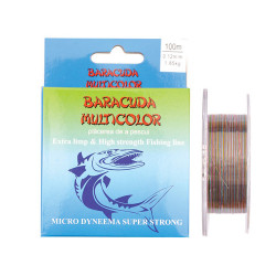 Fir Baracuda Multicolor 0,12mm/2,2Kg/100m