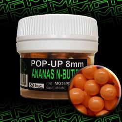 Pop-up MG special carp Ananas N-Butiric 8mm 50 buc.