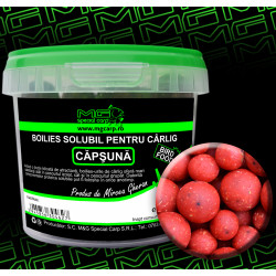 Boilies carlig solubil MG special carp Capsuna
