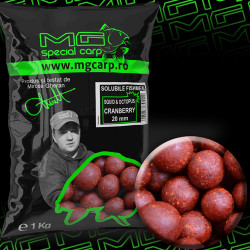 Boilies solubil MG special carp Squid&Octopus Cranberry EA 20mm