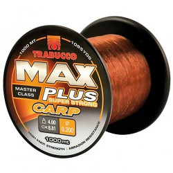 Fir Trabucco Max Plus Carp 0,22mm/4,90kg/1000m