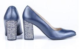 Pantofi Guban, 3284, bleumarin