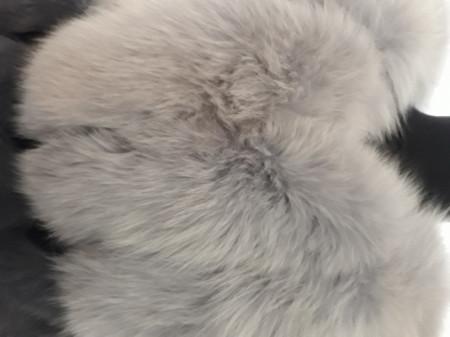 Vesta din blana naturala de vulpe