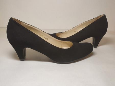 Pantofi Guban 4463 piele naturala velur