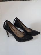 Pantofi Guban 1129 piele naturala lac