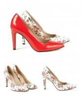 Pantofi dama,piele naturala,toc 9,5 cm, Guban
