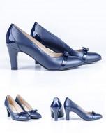 Pantofi Guban, piele naturala , toc 7,5 cm, numere 23,5 si 26.5