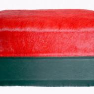Geanta neagra din piele naturala cu Rossa