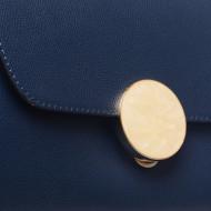 Poseta bleumarin din piele naturala, Tivoli