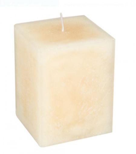 Lumanare parfumata - Vanilie - 7,5x7,5x10 cm