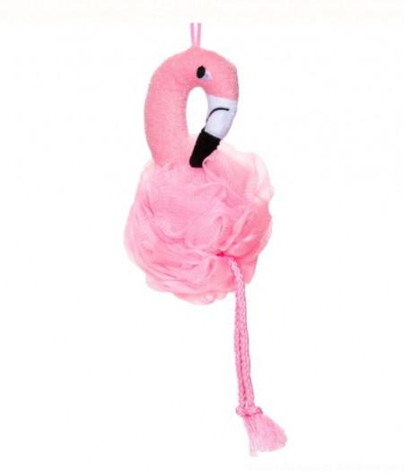 burete de baie flamingo